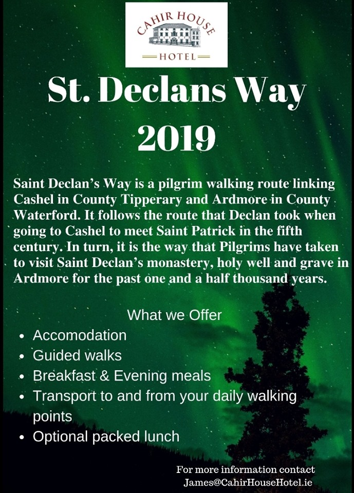 St. Declan's Way Packages
